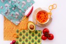 Oppbevar mat i Wrappa vokset matpapir. Foto: Wrappa Reusable Food Wraps thumbnail