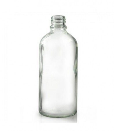 Glassflaske klar 100 ml