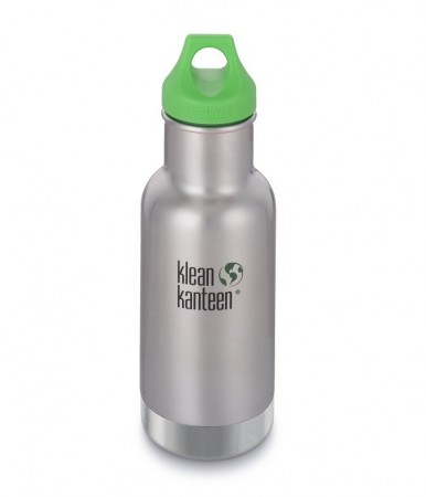 Kid Kanteen INSULATED CLASSIC drikkeflaske 355 ml, BRUSHED STEEL