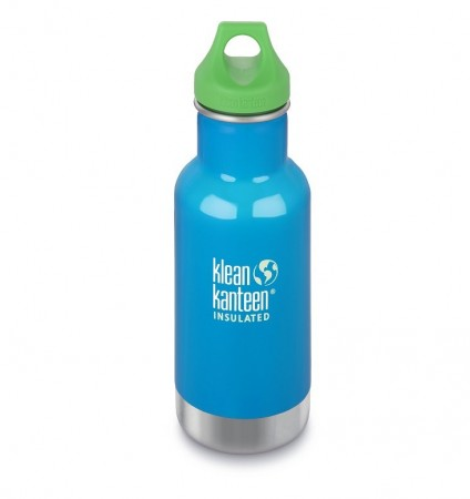 Kid Kanteen INSULATED CLASSIC drikkeflaske 355 ml, LITTLE POND (BLÅ), utgående farge