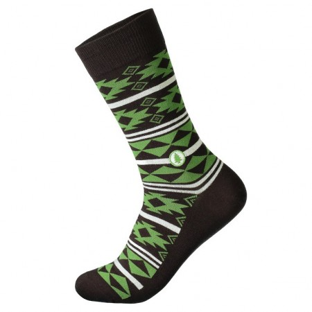 Socks that plant trees BROWN/GREEN (str. 41-46), Conscious Step sokker