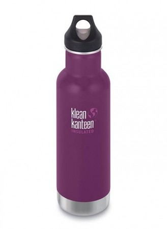 Klean Kanteen INSULATED CLASSIC 592 ml, WINTER PLUM - midlertidig utsolgt