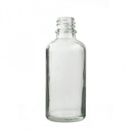 Glassflaske klar 50 ml