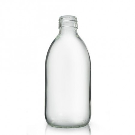 Glassflaske klar 300 ml