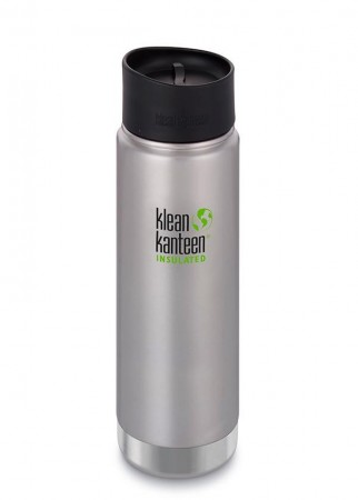 Klean Kanteen INSULATED WIDE 592 ml, BØRSTET STÅL