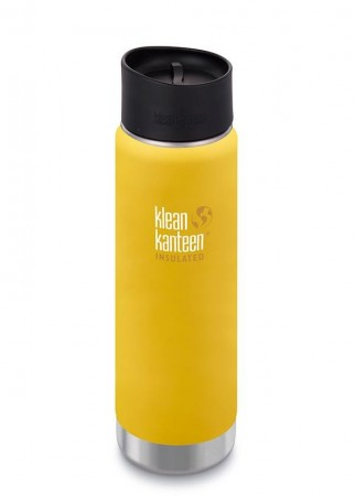Klean Kanteen INSULATED WIDE 592 ml, LEMON CURRY - midlertidig utsolgt.