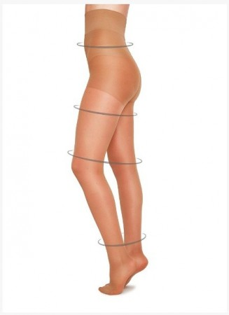 Swedish Stockings strømpebukser, IRMA Support Tights, NUDE 30 denier