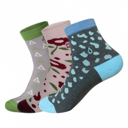 Conscious Collection Box str. 36-40 - Socks that fight for her