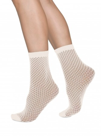 Swedish Stockings sokker, VERA MICRO NET, Ivory