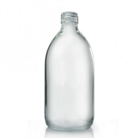 Glassflaske klar 500 ml