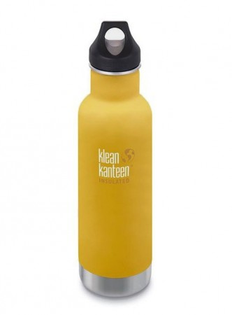 Klean Kanteen INSULATED CLASSIC 592 ml, LEMON CURRY (gul), midlertidig utsolgt