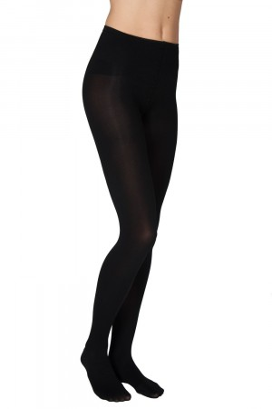 Swedish Stockings strømpebukser - LIA Premium 100 denier black
