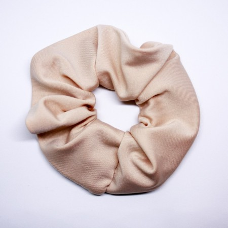 Scrunchie, French beige