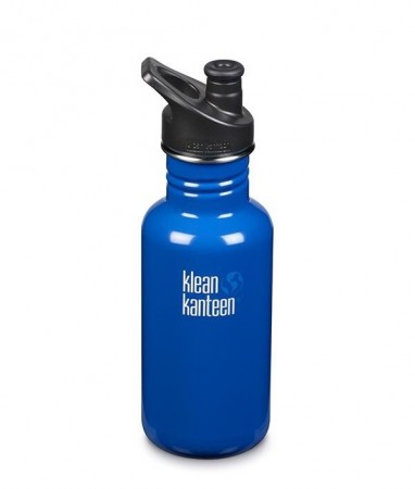 Klean Kanteen Classic m/ sportskork 532 ml, COASTAL WATERS