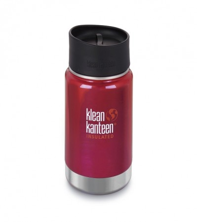 Klean Kanteen INSULATED WIDE 355 ml, ROASTED PEPPER (rød)