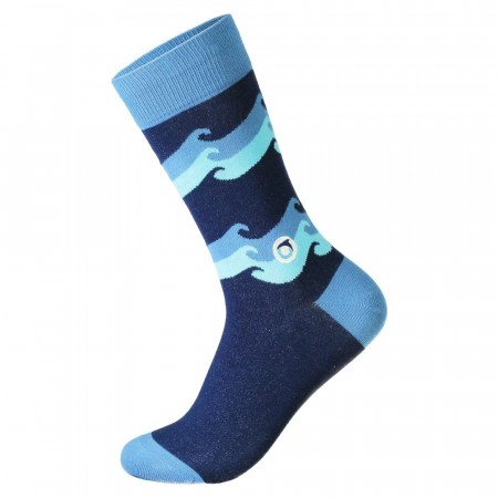 Socks that protect oceans WAVES (str. 41-46), Conscious Step sokker