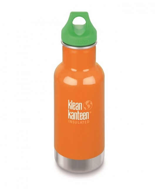 Kid Kanteen Insulated drikkeflaske 355 ml i fargen oransje (Puffin´s Bill)