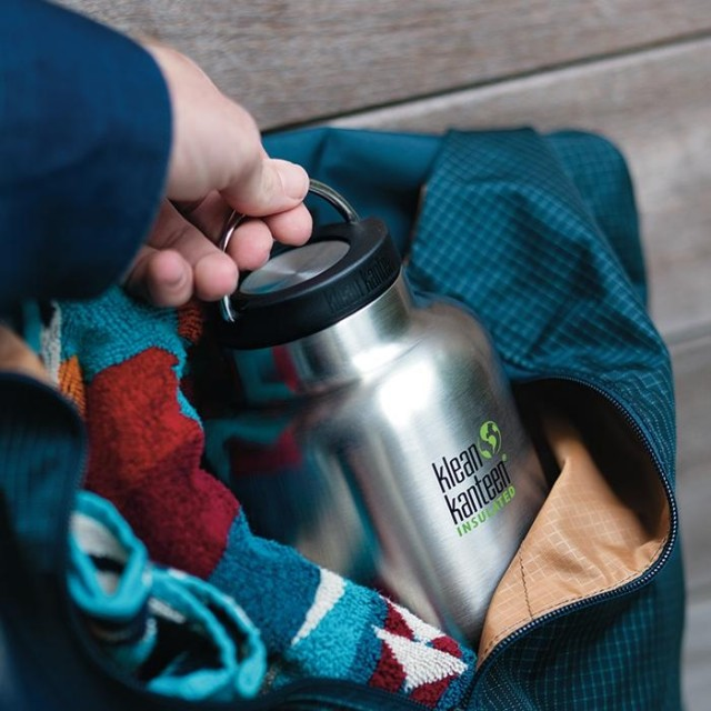Loop cap for TKWide termokopper. Foto: Klean Kanteen