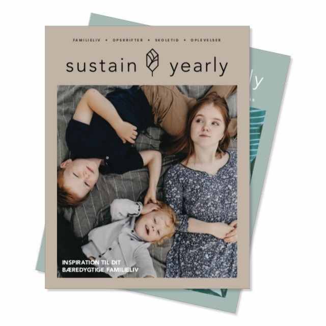 Sustain Yearly Familie livsstilsmagasin (2 in 1). Foto: Sustain Daily