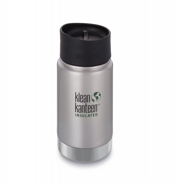 Klean Kanteen Insulated Wide / termokopp 355 ml i børstet stål
