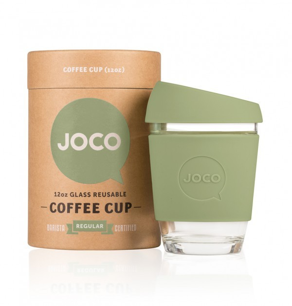 Joco kaffekopp, Army Green 355 ml