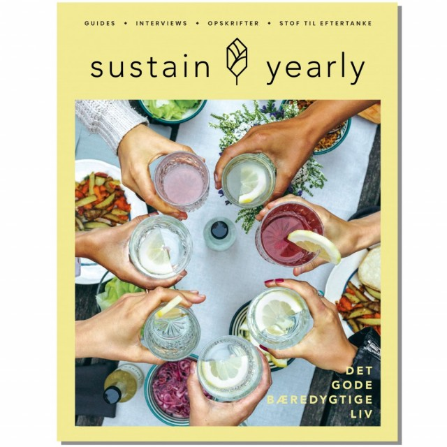 Sustain Yearly livsstilsmagasin, utgave 3 (dansk). Foto: Sustain Daily